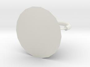 Geometric kettle in White Natural Versatile Plastic