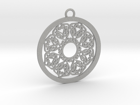 Ornamental pendant no.2 in Aluminum