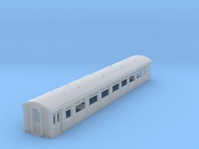 o-148-lnwr-siemens-trailer-coach-1 in Smooth Fine Detail Plastic