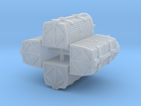 1/350 TMP Work Bee Containers - Set of Four in Smoothest Fine Detail Plastic
