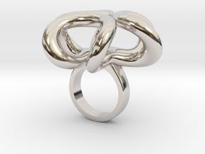 Rostino - Bjou Designs in Rhodium Plated Brass