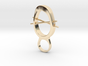 Crhost - Bjou Designs in 14k Gold Plated Brass