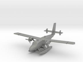 de Havilland Canada DHC-6 Twin Otter Seaplane in Gray Professional Plastic