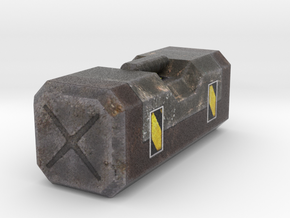 Ammo Box Miniature in Natural Full Color Sandstone