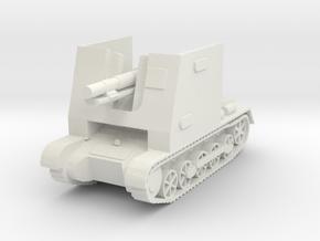 sturmpanzer I scale 1/56 in White Natural Versatile Plastic