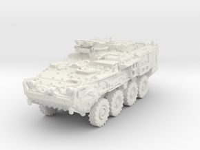 M1133 Stryker MEV scale 1/100 in White Natural Versatile Plastic