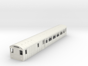 o-87-lnwr-lms-siemens-motor-coach-1 in White Natural Versatile Plastic