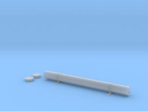 1-10 tubo portabaquetas completo in Smooth Fine Detail Plastic