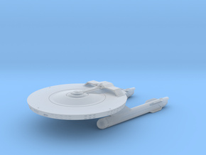 Confederation Da Gama class Light Cruiser in Smooth Fine Detail Plastic