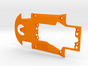 PSRV00201 Chassis for RevoSlot Marcos LM600 GT2 in Orange Processed Versatile Plastic