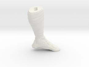 Drew Brees_LegL in White Natural Versatile Plastic