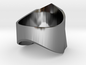 Decepticon-ring (US Size 13) in Fine Detail Polished Silver: 13 / 69