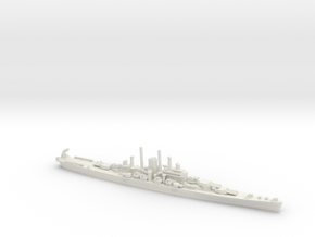 US Des Moines-Class Cruiser in White Natural Versatile Plastic