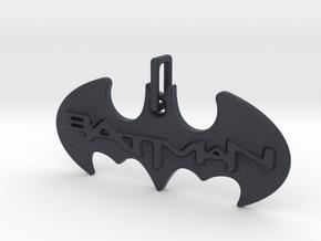 Bat Man Pendant in Black Professional Plastic