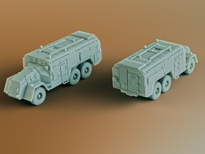 AEC Armoured Command Vehicle 6x6 Scale: 1:160 in Smooth Fine Detail Plastic