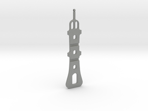 Necklace-37 in Gray Professional Plastic