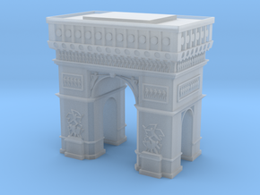 Arc de Triomphe  in Smooth Fine Detail Plastic