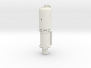 1/8 scale KC 8x12 Assembly in White Natural Versatile Plastic