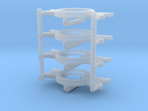 1:6 BUCKLE fine detail plastic x4 in Smooth Fine Detail Plastic