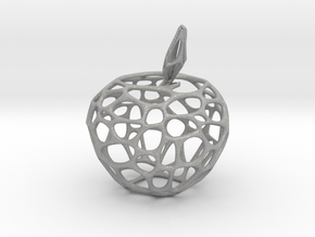Voronoi Apple in Aluminum