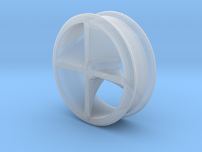 Stretcher : Tunnel with interior detail in Smooth Fine Detail Plastic