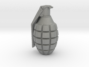 1/9 Scale Pineapple Hand Grenade in Gray Professional Plastic
