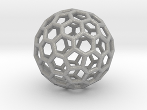 Fullerene-72 in Aluminum: Extra Small