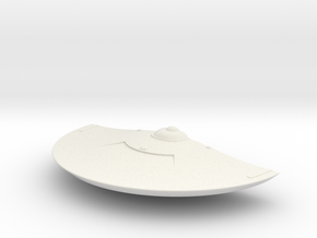 1/1400 USS Jupp (Discovery) Front Saucer in White Natural Versatile Plastic