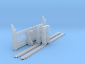 1:50 Forks for 950, 966, 972K/M loaders. in Smooth Fine Detail Plastic