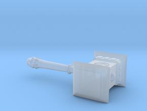 1:12 Miniature Doom Hammer - Warcraft in Smooth Fine Detail Plastic: 1:12