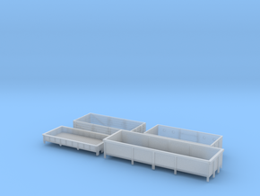 BR open wagons in Smoothest Fine Detail Plastic