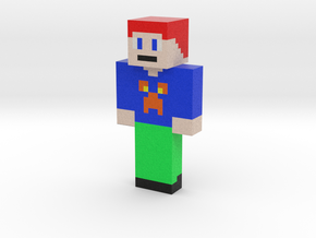 Human | Minecraft toy in Natural Full Color Sandstone