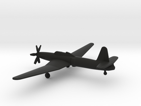 Caproni Ca.183 bis in Black Natural Versatile Plastic: 1:200