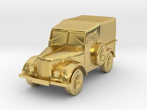 UAZ 69 + GAZ 69 2018 CORRECT BAMPER in Polished Brass