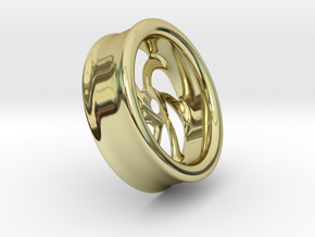 Rims in 18K Yellow Gold: Extra Large