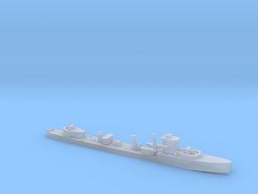 HMS Vega 1:1800 r2 WW2 naval destroyer in Smoothest Fine Detail Plastic