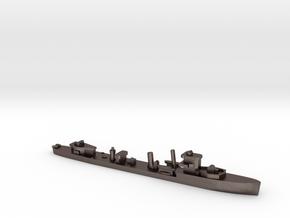 HMS Vega 1:1800 r2 WW2 naval destroyer in Polished Bronzed-Silver Steel