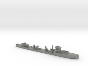 HMS Vega 1:1800 r2 WW2 naval destroyer in Gray PA12
