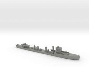 HMS Vega 1:1800 r2 WW2 naval destroyer in Gray PA12