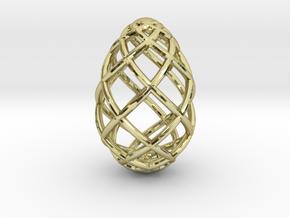 OVO Pendant Medium No Loop in 18K Yellow Gold