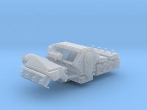 Mountain Motor 1/25 w/turbo 4 intake in Smooth Fine Detail Plastic
