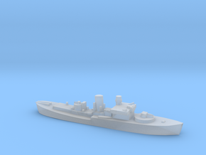 Flower Class corvette 1:2400 GBR WW2 naval in Smoothest Fine Detail Plastic