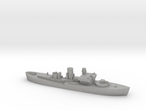 Flower Class corvette 1:2400 GBR WW2 naval in Aluminum