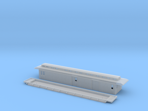 DFo1 - Swedish passenger wagon in Smooth Fine Detail Plastic