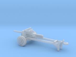 1/72 Scale M3 37mm Anti Tank Gun in Smooth Fine Detail Plastic