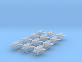 Redthorn Scout Ship 12 pack in Smooth Fine Detail Plastic