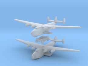 Boeing 314 Flying Boat Set 1/1250 and 1/1200 scale in Smoothest Fine Detail Plastic: 1:1250