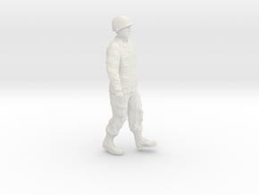 1/24 Modern Unif M1Helmet Fig302-01 in White Natural Versatile Plastic