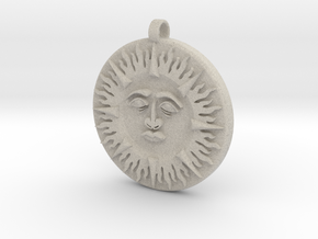 Sun&Moon in Natural Sandstone
