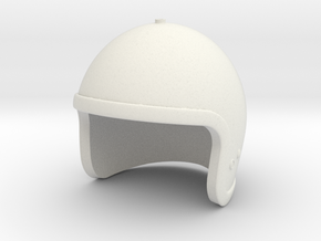 Lost in Space Helmet (Smaller version) in White Natural Versatile Plastic